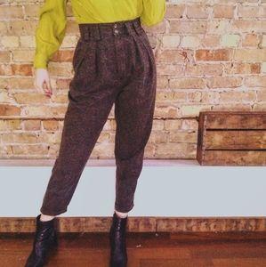 VTG Subtle Paisley High Rise Trouser